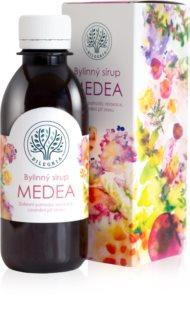 Bilegria Bylinný sirup Medea na duševní pohodu doplněk stravy  pro duševní a fyzickou rovnováhu