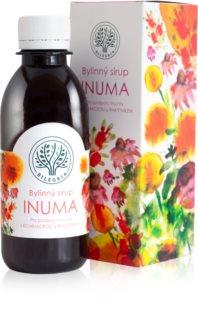 Bilegria Bylinný sirup Inuma na podporu imunity doplněk stravy  pro posílení imunity