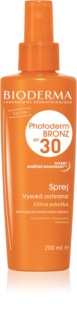 Bioderma Photoderm Bronz SPF 30 spray protetor para manter e prolongar o bronzeado natural SPF 30