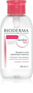 Bioderma Sensibio H2O água micelar com doseador para a pele sensível