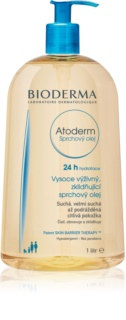 Bioderma Atoderm Shower Oil olio doccia lenitivo ultra nutriente per pelli secche e irritate