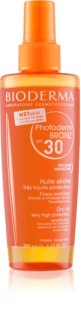 Bioderma Photoderm Bronz Oil huile sèche protectrice en spray SPF 30