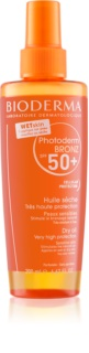 Bioderma Photoderm Bronz Oil huile sèche protectrice en spray SPF 50+