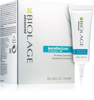 Biolage Advanced Keratindose tratament pe baza de keratina pentru par deteriorat