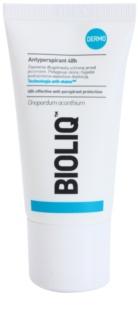 Bioliq Dermo antiperspirant roll-on za občutljivo in depilirano kožo
