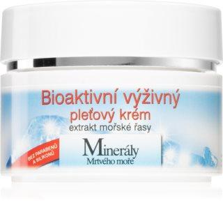 Bione Cosmetics Bio питательный крем для лица с минералами Мертвого моря