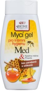Bione Cosmetics Honey + Q10 gel za intimno higieno z matičnim mlečkom