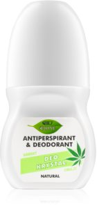 Bione Cosmetics Cannabis Roll-On Deodorant  With Floral Fragrance