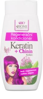 Bione Cosmetics Keratin + Chinin acondicionador regenerador para cabello