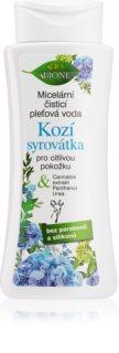 Bione Cosmetics Kozí Syrovátka jemná čisticí micelární voda pro citlivou pleť