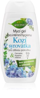 Bione Cosmetics Kozí Syrovátka dámský sprchový gel pro intimní hygienu pro citlivou pokožku