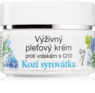 Bione Cosmetics Kozí Syrovátka krem przeciwzmarszczkowy do twarzy z koenzymem Q10