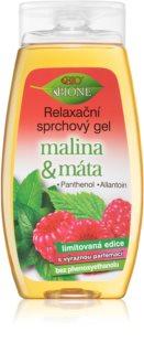 Bione Cosmetics Malina & Máta gel de ducha relajante