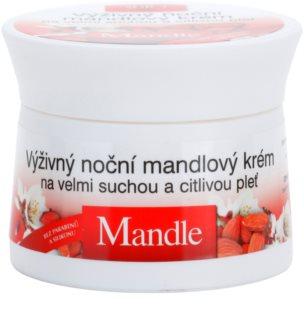Bione Cosmetics Almonds creme de noite nutritivo para pele muito seca e sensível