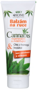 Bione Cosmetics Cannabis regeneračný a zvláčňujúci balzam na ruky