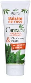 Bione Cosmetics Cannabis bálsamo regenerador e hidratante para manos
