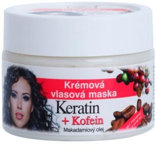 Bione Cosmetics Keratin Kofein Krämmask för hår