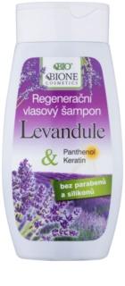 Bione Cosmetics Lavender champú regenerador para todo tipo de cabello