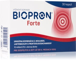 Biopron Forte probiotický komplex v kombinaci s prebiotiky