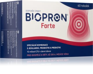 Biopron Forte 60 tob. doplněk stravy pro obnovu střevní mikroflóry