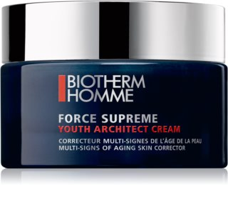 Biotherm Homme Force Supreme crema remodeladora de día pare renovar y regenerar la piel