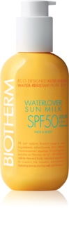 Biotherm Waterlover Sun Milk lait solaire waterproof SPF 50
