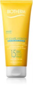 Biotherm Lait Solaire loción bronceadora para rostro y cuerpo SPF 15