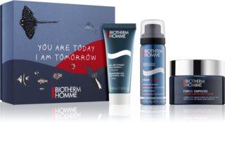 Biotherm Homme Force Supreme darčeková sada (na tvár a fúzy) pre mužov