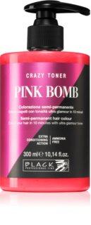 Black Professional Line Crazy Toner τονωτικό χρώματος μαλλιών
