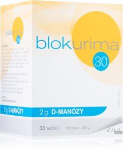 Blokurima 2 g D-manózy 4 g zdraví močových cest