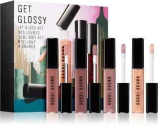 Bobbi Brown Get Glossy комплект гланц за устни за жени