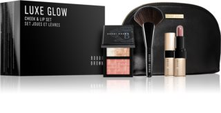 Bobbi Brown Luxe Glow Cheek & Lip Set Sminkset (För kvinnor)