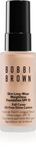 Bobbi Brown Mini Skin Long-Wear Weightless Foundation μακράς διαρκείας μεικ απ SPF 15