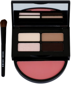 Bobbi Brown Instant Pretty Lidschatten-Palette und Rouge