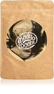 BodyBoom Shimmer Gold Coffee Body Scrub