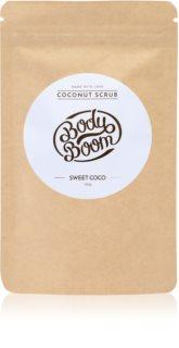 BodyBoom Sweet Coco kávový tělový peeling