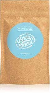 BodyBoom Coconut скраб за тяло с кафе