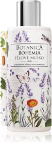 Bohemia Gifts & Cosmetics Botanica telové mlieko s vôňou levandule