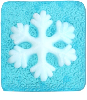 Bohemia Gifts & Cosmetics Snowflake Handmade Soap With Glycerin