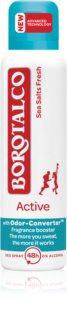 Borotalco Active Sea Salts deodorant spray cu o eficienta de 48 h