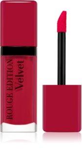 Bourjois Rouge Edition Velvet Nestemäinen Huulipuna Mattaisella Vaikutuksella