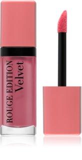 Bourjois Rouge Edition Velvet жидкая помада для губ с матовым эффектом