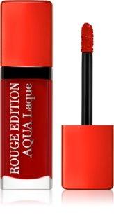 Bourjois Rouge Edition Aqua Laque Kosteuttava Huulipuna Korkealla Kiilto Vaikutuksella