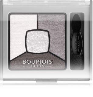 Bourjois Smoky Stories füstös árnyalatú szemhéjfesték paletta