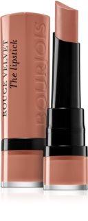 Bourjois Rouge Velvet The Lipstick матовая помада для губ