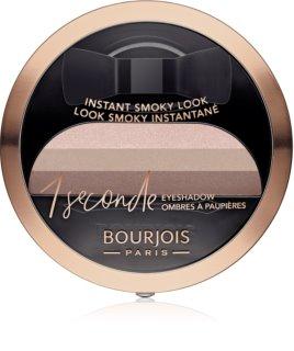 Bourjois 1 Seconde Lidschatten für einen Smokey-Eyes-Look