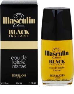 Bourjois Masculin Black Instant Eau de Toilette para hombre