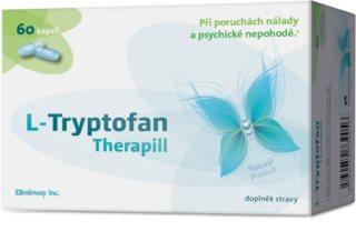Brainway L-Tryptofan Therapill doplněk stravy  pro duševní pohodu
