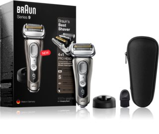 Braun Series 9 9325s Graphite with Charging Stand rasoio a lama