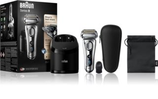 Braun Series 9 9292cc Wet&Dry with Clean&Charge System rasoio a lama